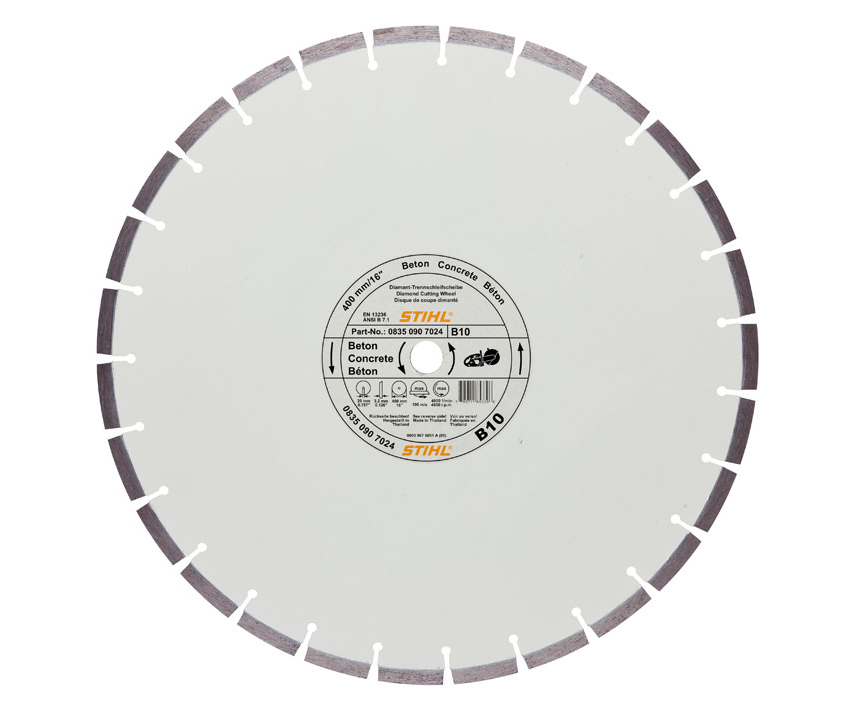 Stihl D-B10 Diamond cutting wheel (concrete)
