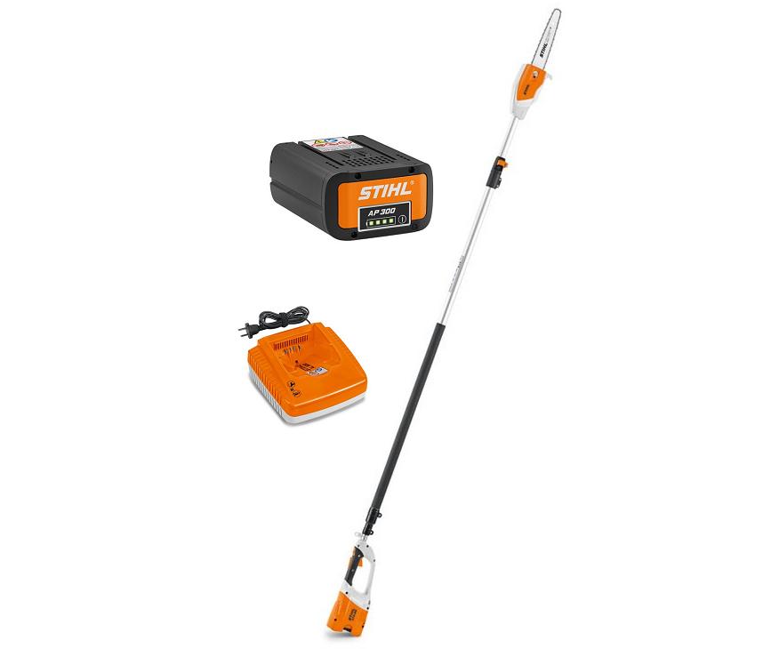 Stihl HTA 85 battery pole saw (12