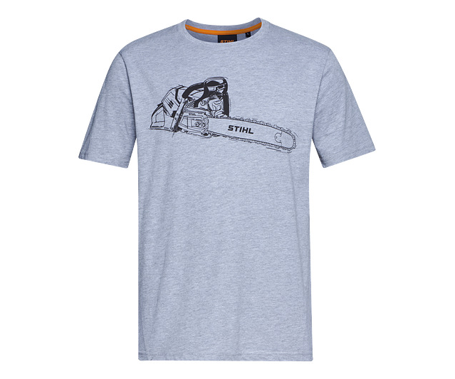 Stihl MS 500i chainsaw t-shirt