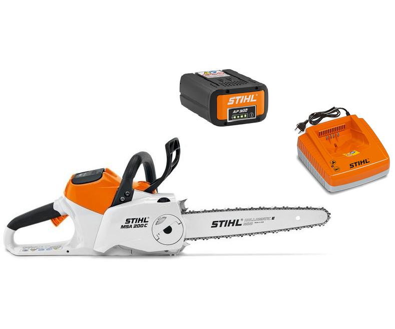 Stihl MSA 200 C-BQ battery chainsaw (14