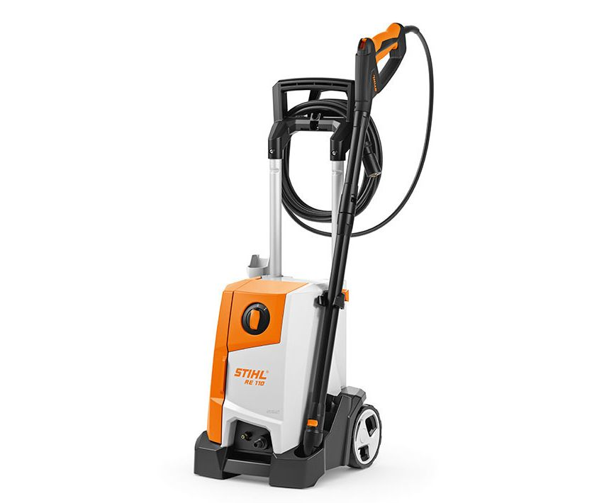 Stihl RE 110 pressure washer (comes with RA82 surface cleaner)