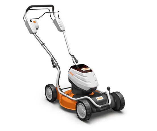 Stihl RMA 2 RT battery self-propelled four wheeled lawn mower (46cm cut)
