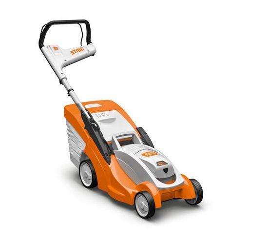 Stihl RMA 339 C battery push four wheeled lawn mower (37cm cut)