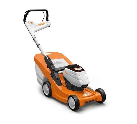Stihl RMA 443 C battery push four wheeled lawn mower (41cm cut)