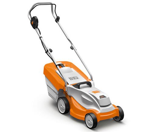 Stihl RMA 235 battery push four wheeled lawn mower (33cm cut)