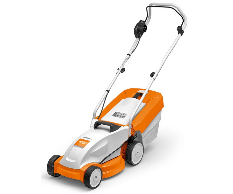 Stihl RME 235 electric push four wheeled lawn mower (33cm cut)