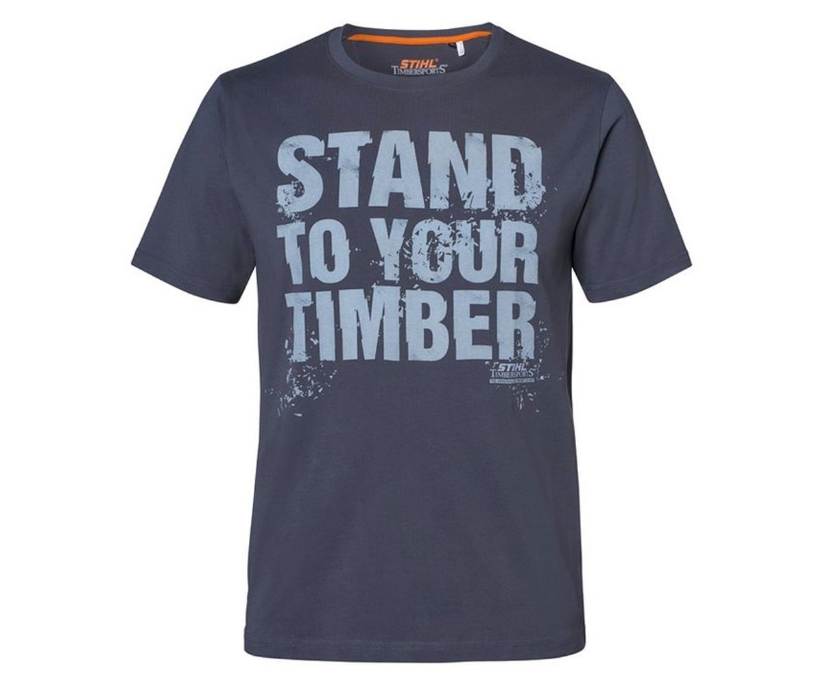 Stihl Timbersports 'STAND TO YOUR TIMBER' T-shirt