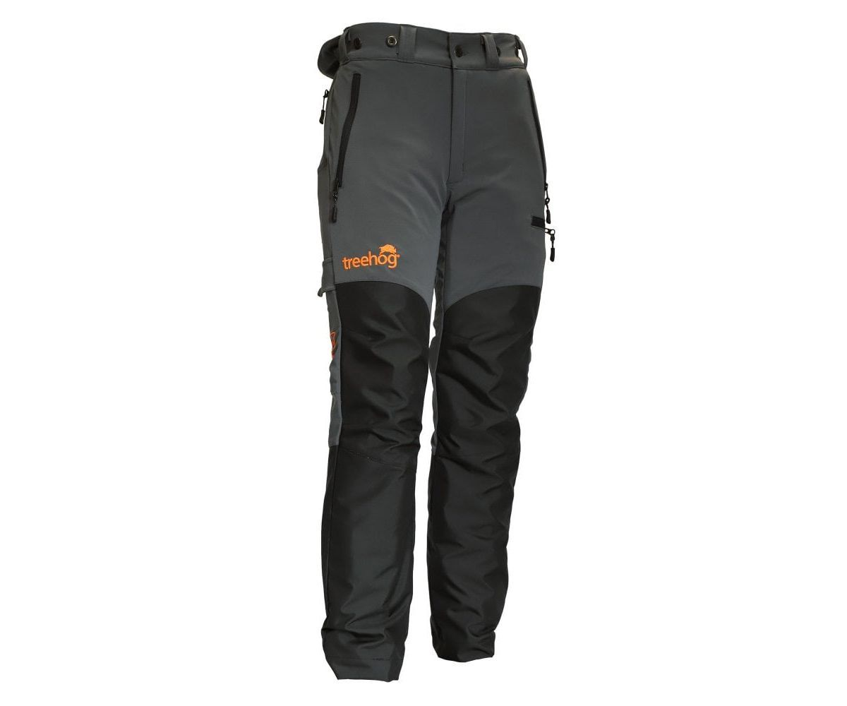 Treehog chainsaw trousers Type C, Class 1 (Grey) (Large)