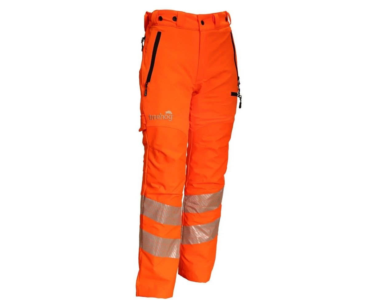Treehog GO/RT chainsaw trousers Type C, Class 1 (Hi-viz orange) (Small)