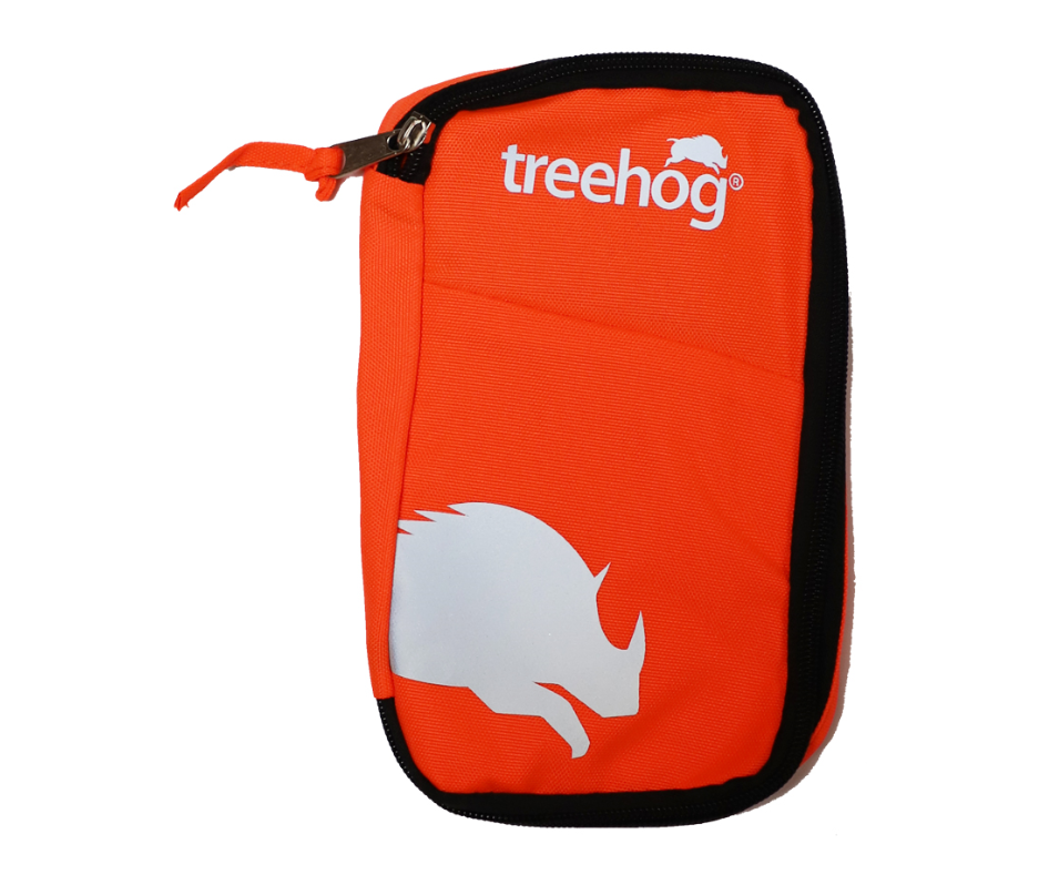 Treehog TH4100 personal pouch with internal pockets (Orange)