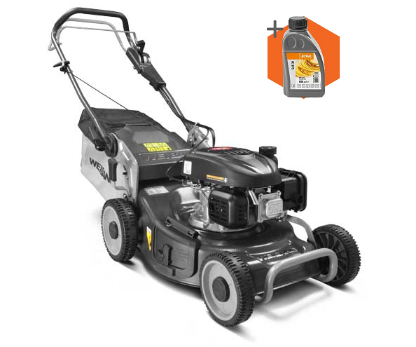 Weibang Virtue 46 SVP petrol self propelled four wheeled lawn mower (46cm cut)