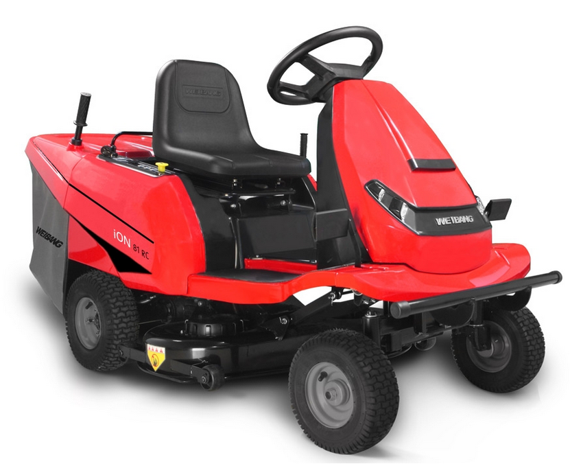 Weibang iON 81 RC battery ride-on mower (81cm cut)