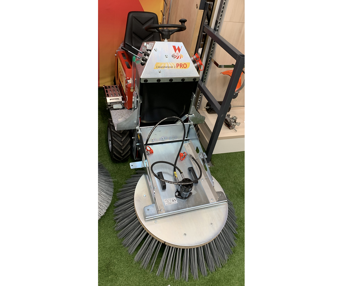 Westermann CM2 PRO compact petrol power sweeper