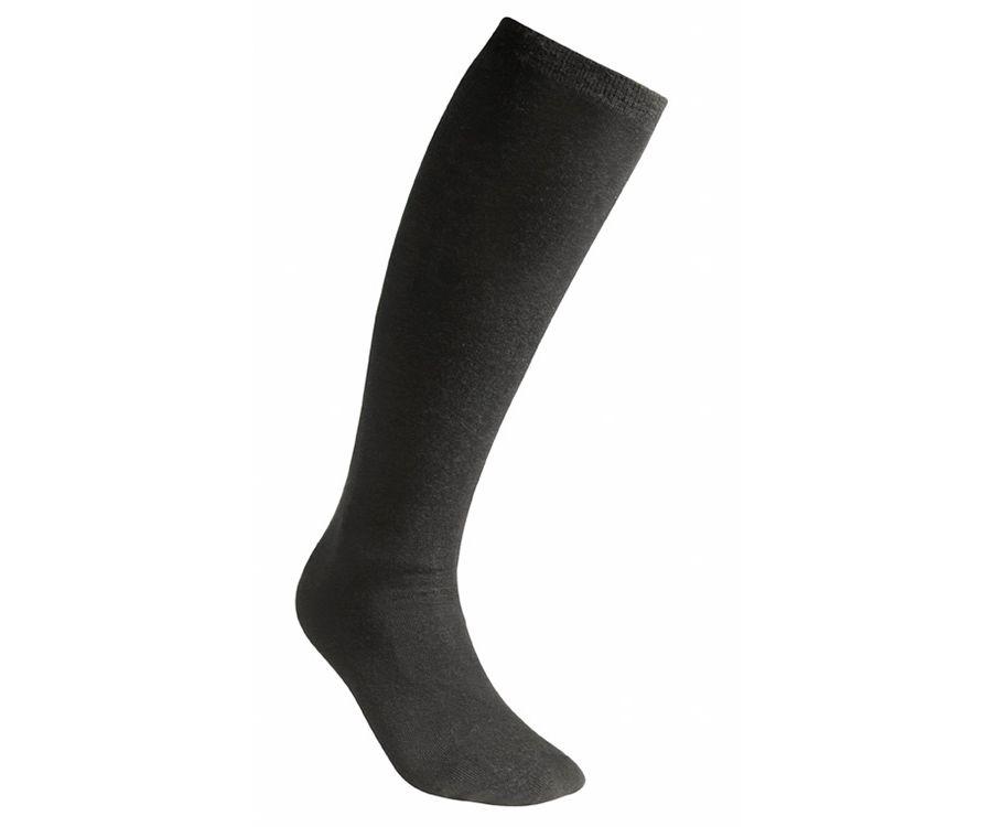 Woolpower Lite knee-high liner socks (Black)