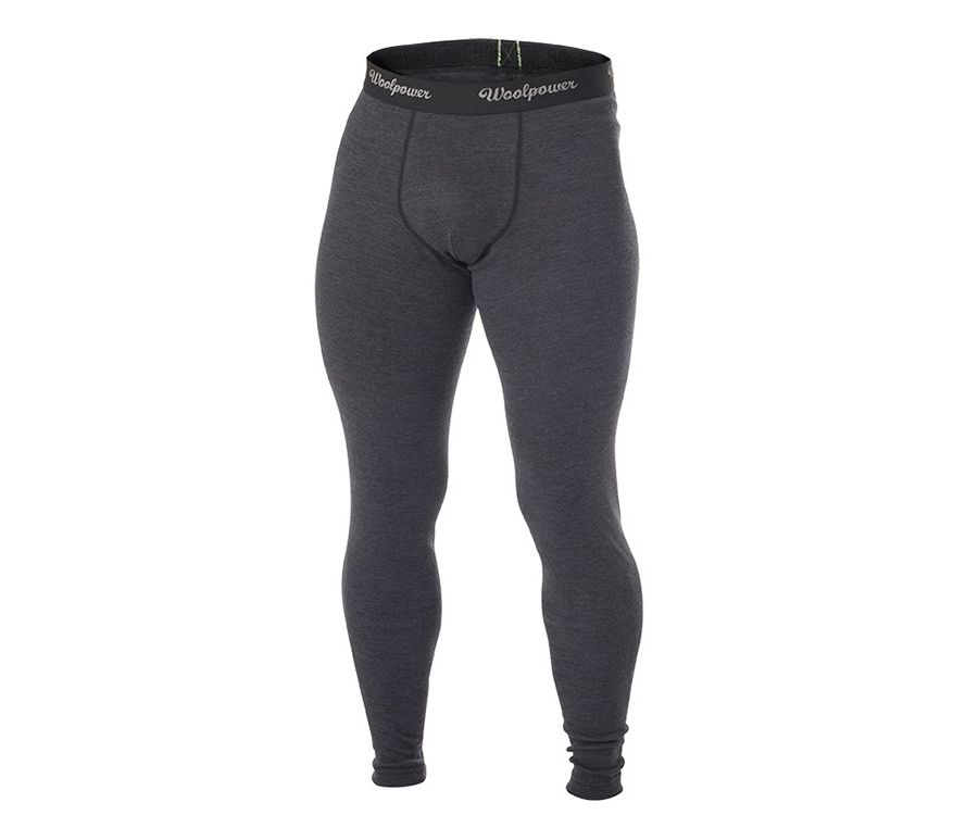 Woolpower Protection Lite base layer long-johns (Mens) (Grey)