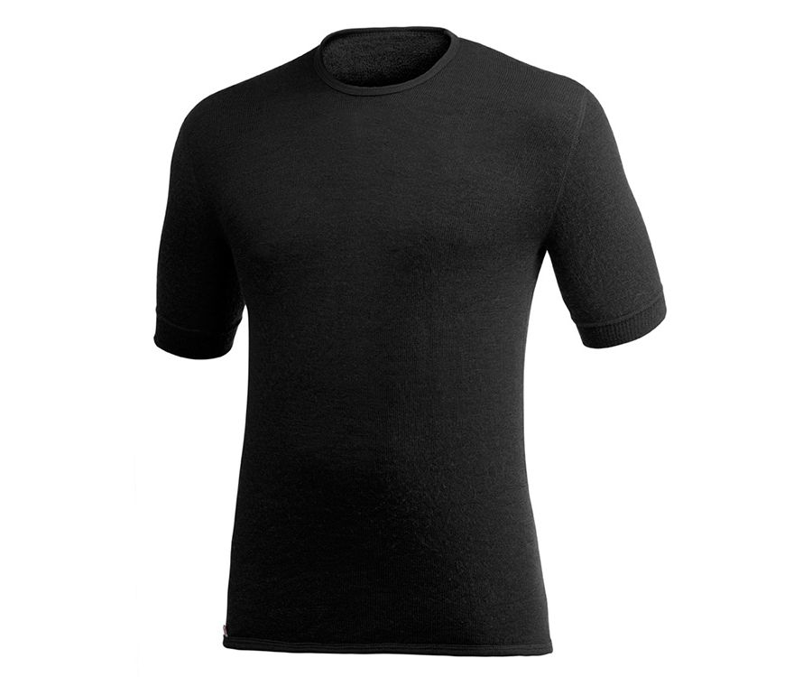 Woolpower Ullfrotte 200 base layer T-shirt (Black)