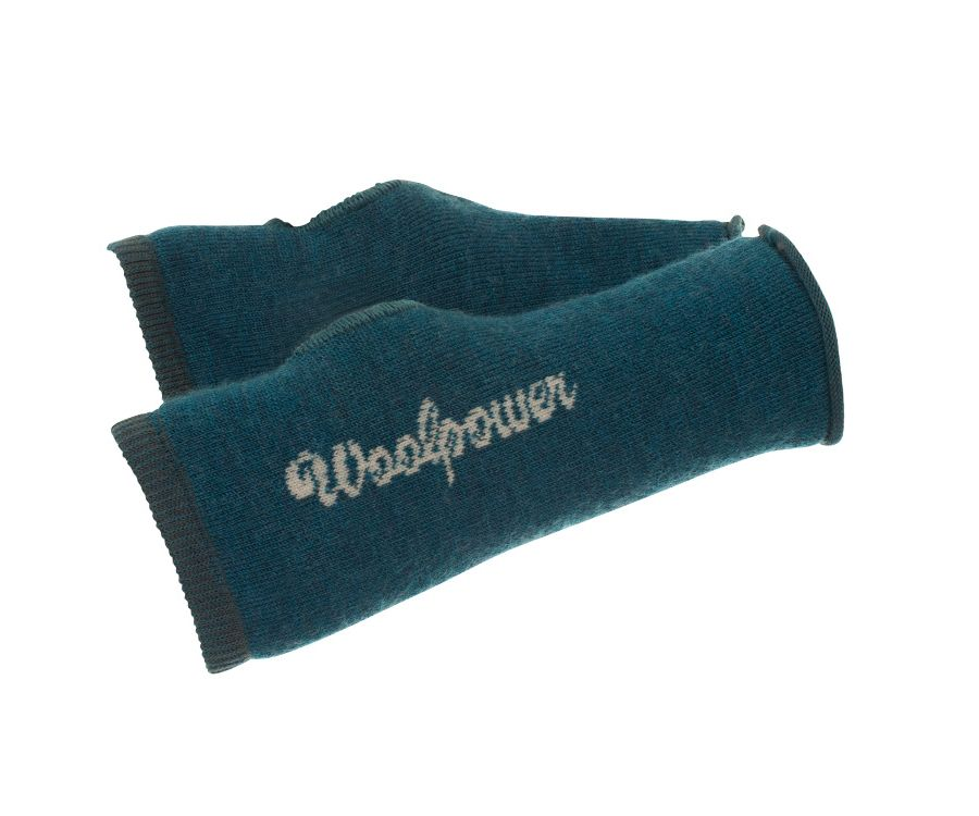 Woolpower Ullfrotte 200 wrist gaiters (Blue)